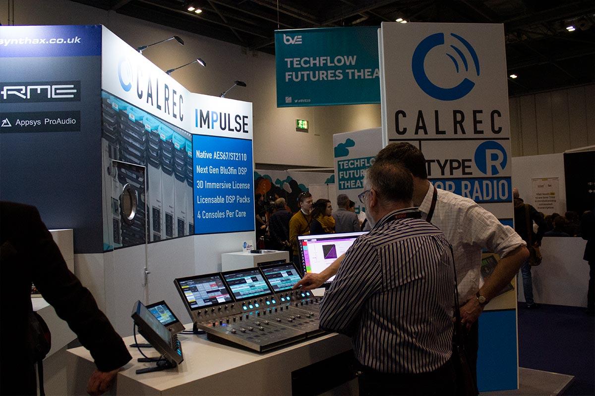 BVE 2019 - Calrec Type R - 02 - Synthax Audio UK