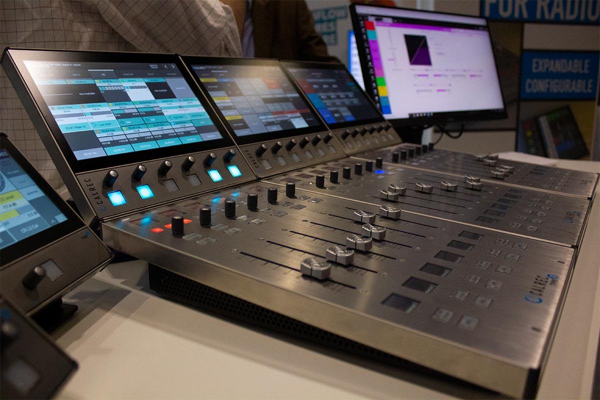 BVE 2019 - Calrec Type R - 03 - Synthax Audio UK