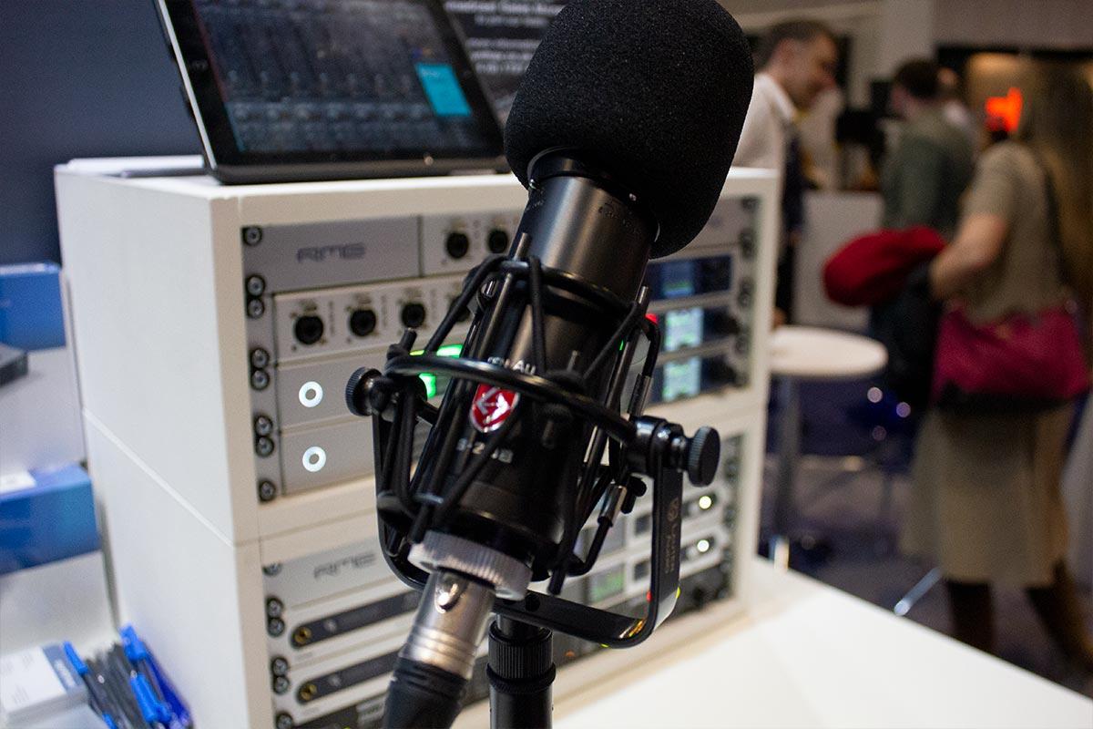 BVE 2019 - Lauten LS-208 Microphone - 02 - Synthax Audio UK