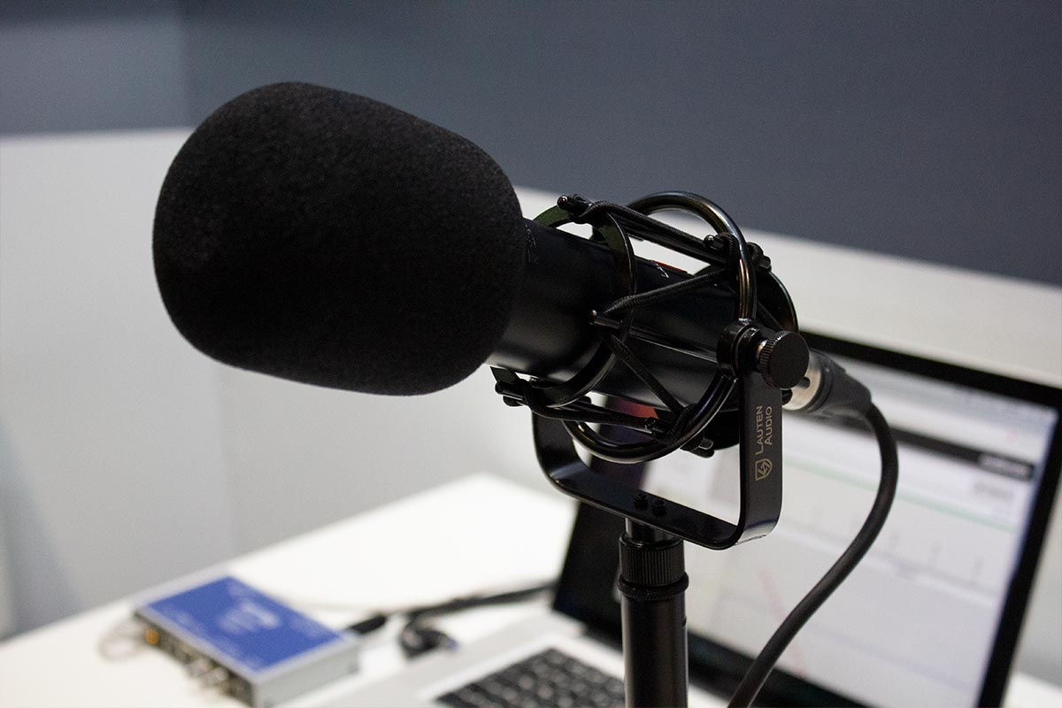BVE 2019 - Lauten LS-208 Microphone - Synthax Audio UK