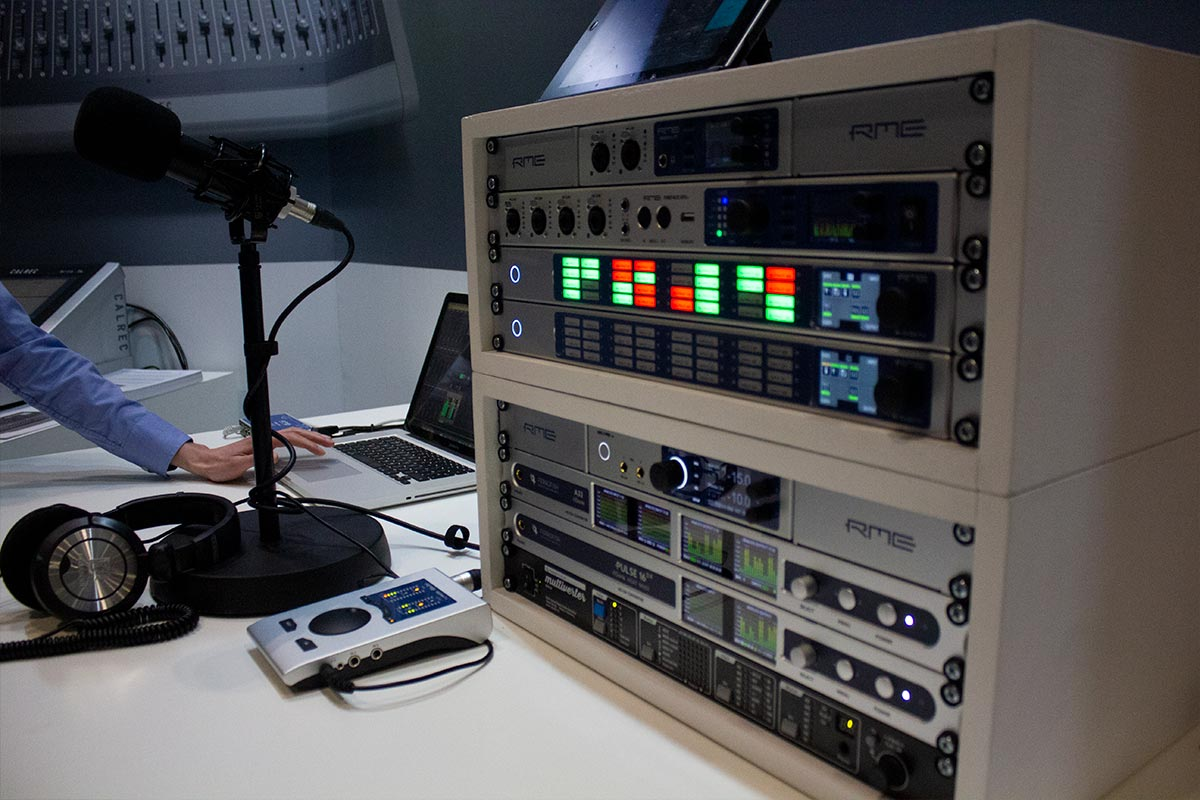 RME at BVE 2019 - 04 - Synthax Audio UK