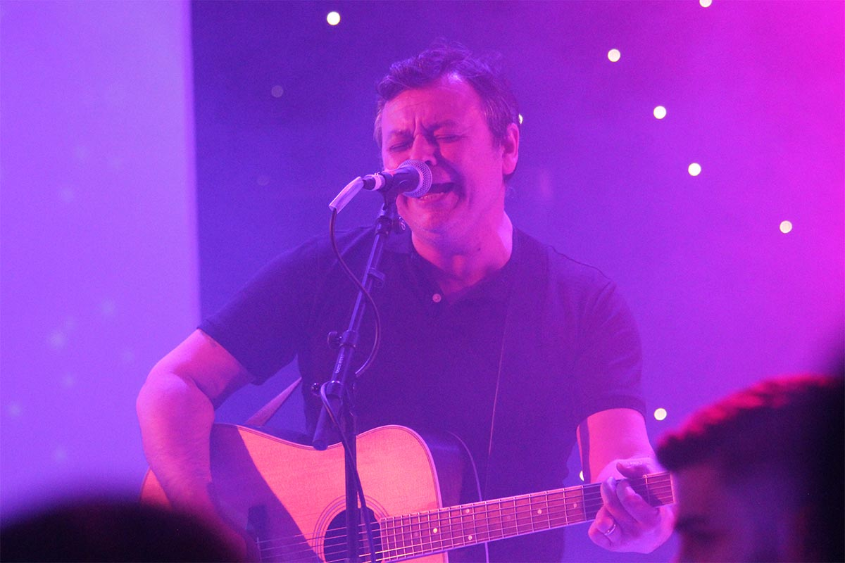 RME at the MPG Awards 2019 - James Dean Bradfield - Synthax Audio UK