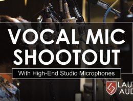 Vocal Microphone Shootout - High-End Studio - Synthax Audio UK