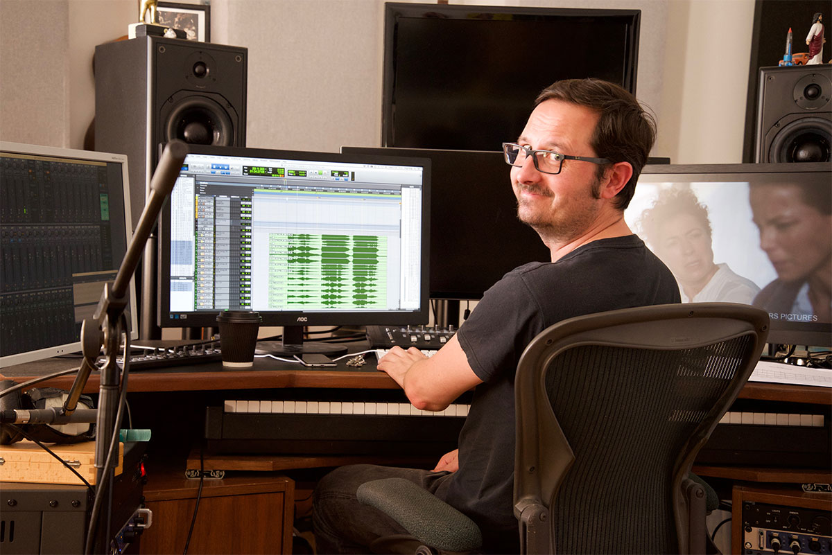 Assistant Martin Thorton - Editing on B-Rig - RME Fireface UFX