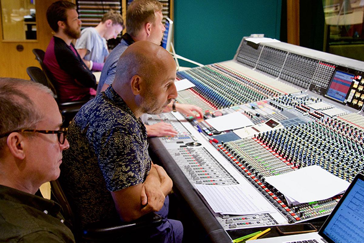 Dominik Scherrer - The Widow - Angel Studios control room