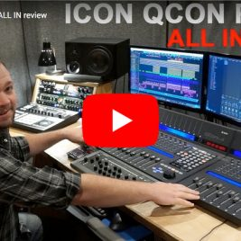 Icon QCon Pro X DAW Controller Review By Consordini Musical instruments