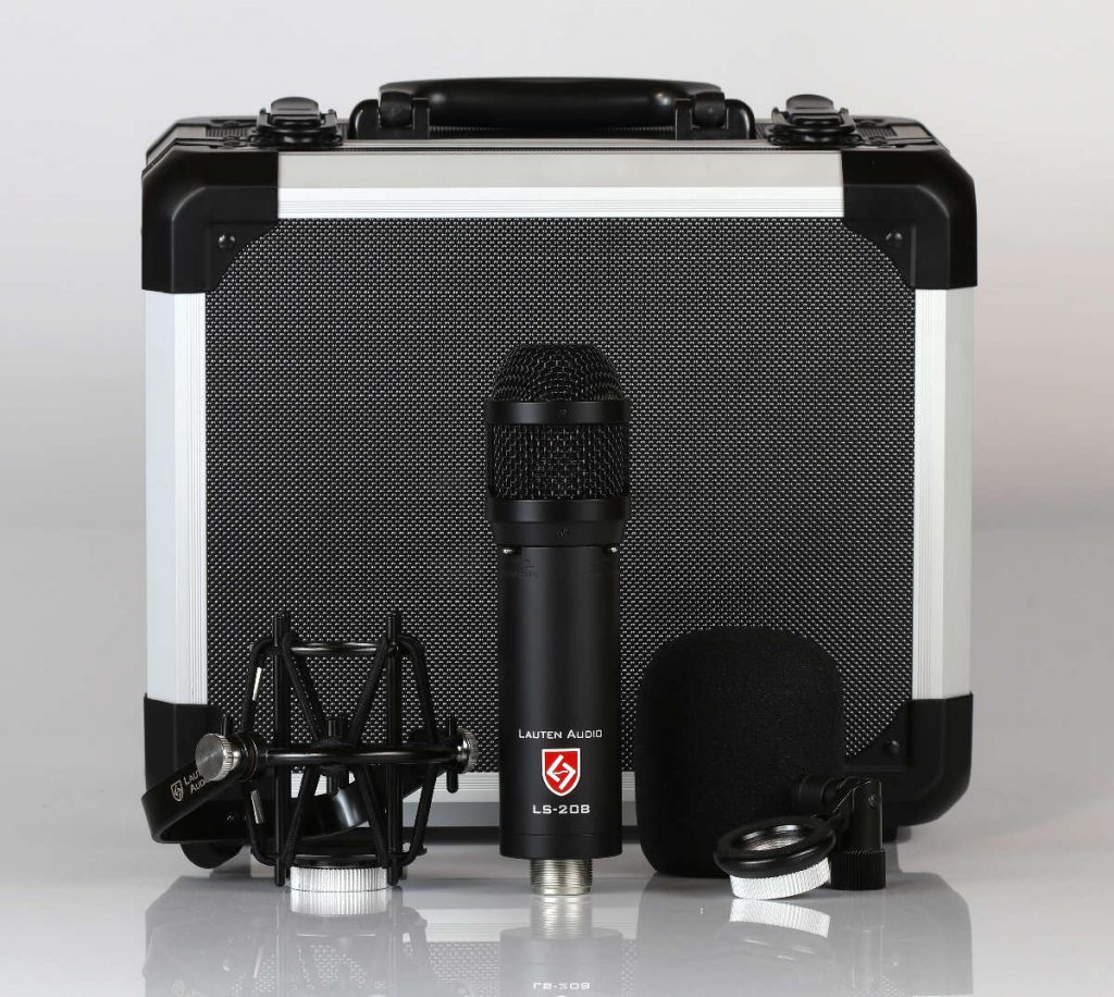 Lauten Audio - LS-208 Microphone with accessories - Synthax Audio UK