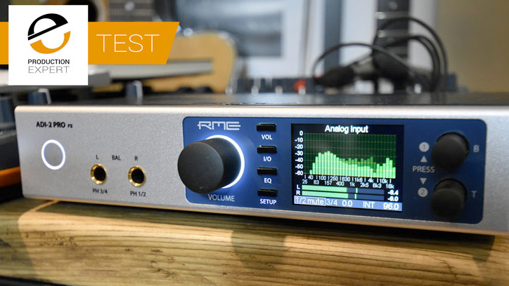 RME ADI-2 Pro FS on test with Pro Tools Expert - Synthax Audio UK