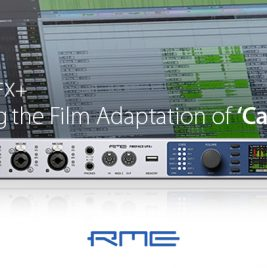 Recording Cats film 2019 - RME Fireface UFX+ - Synthax Audio UK