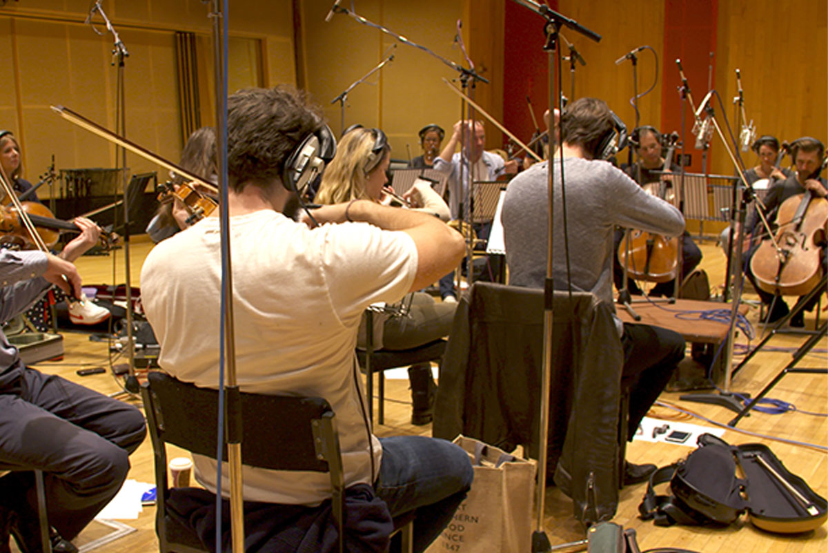 The Widow - Angel Studios - Recording Strings 01
