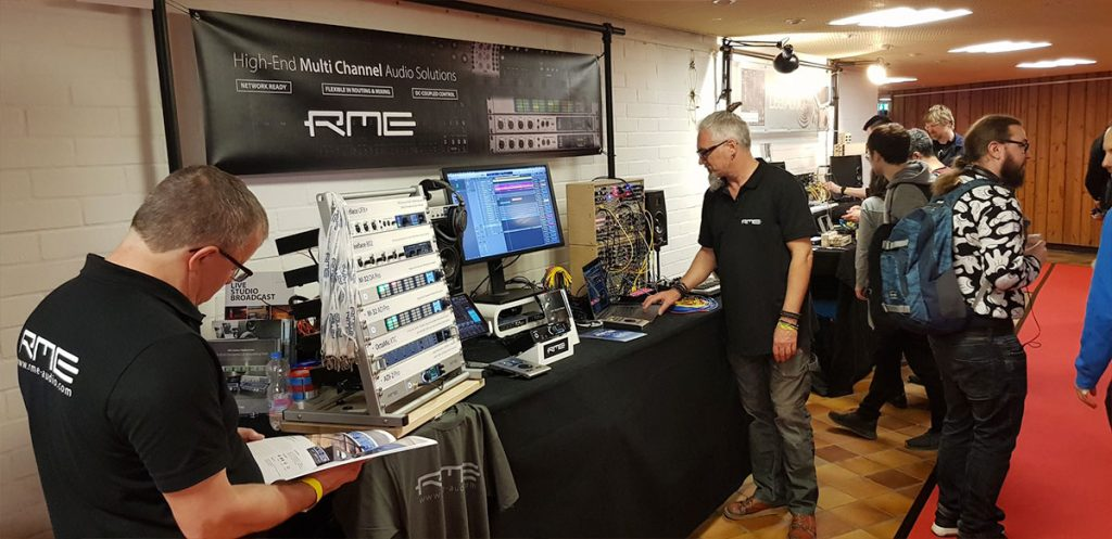 RME Audio - SuperBooth 2019 - 02 - Synthax Audio UK