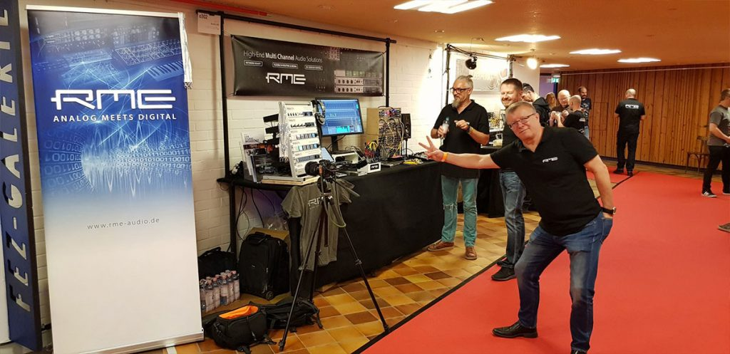 RME Audio - SuperBooth 2019 - 03 - Synthax Audio UK