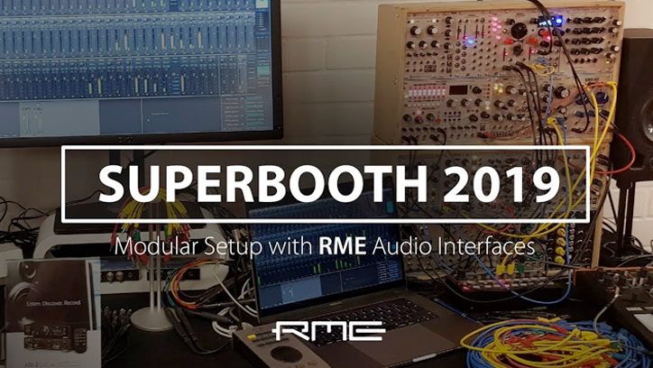 RME Audio at Superbooth 2019 - Modular Synths - Synthax Audio UK