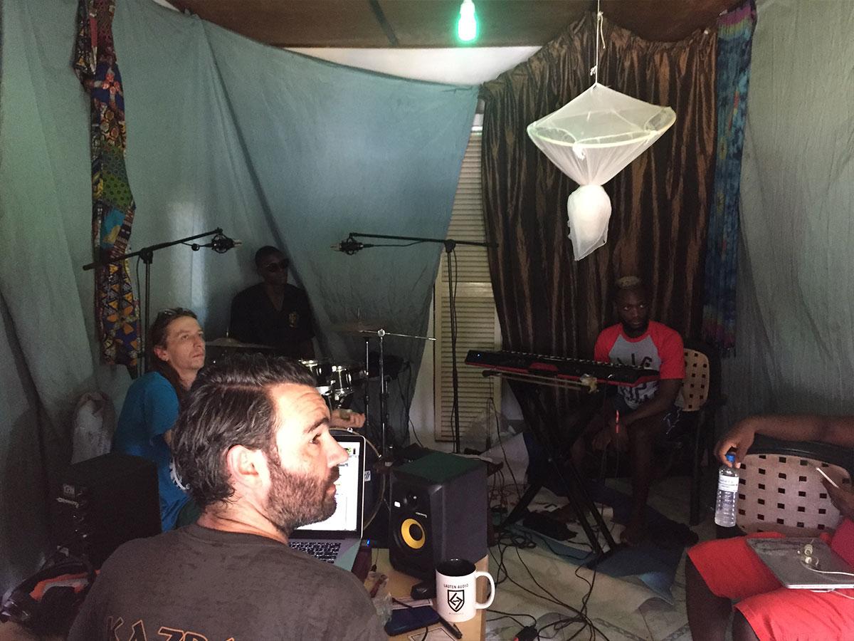 Lauten Audio Microphones - Sam Wheat - Sierra Leone - 02 - Synthax Audio UK