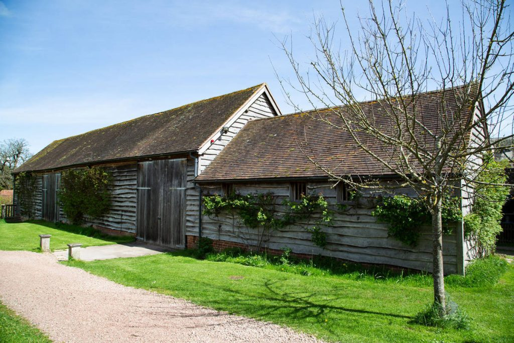 The Big Barn - Hellens Manor - Synthax Audio UK