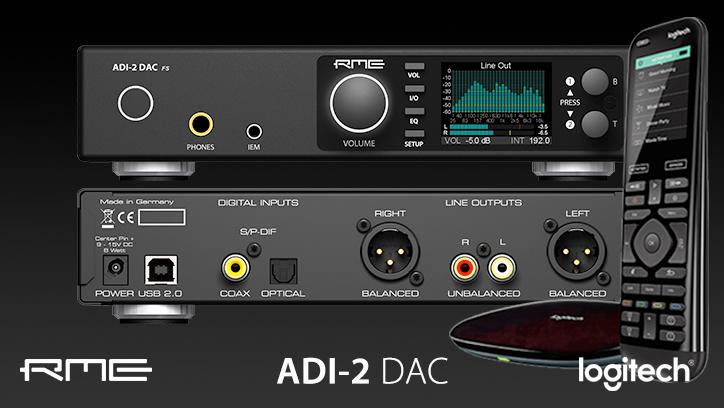 RME ADI-2 DAC - Firmware Update - Logitech Harmony