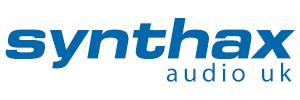 Synthax Logo 2019 - Blue - 300x100