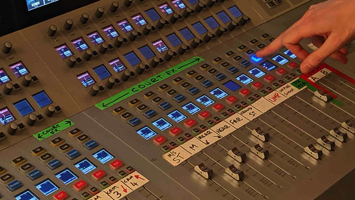Multiple Calrec Audio consoles deployed by NEP at Wimbledon 2019