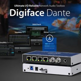 Tyler the Creator tours with the RME Digiface Dante - Synthax Audio UK