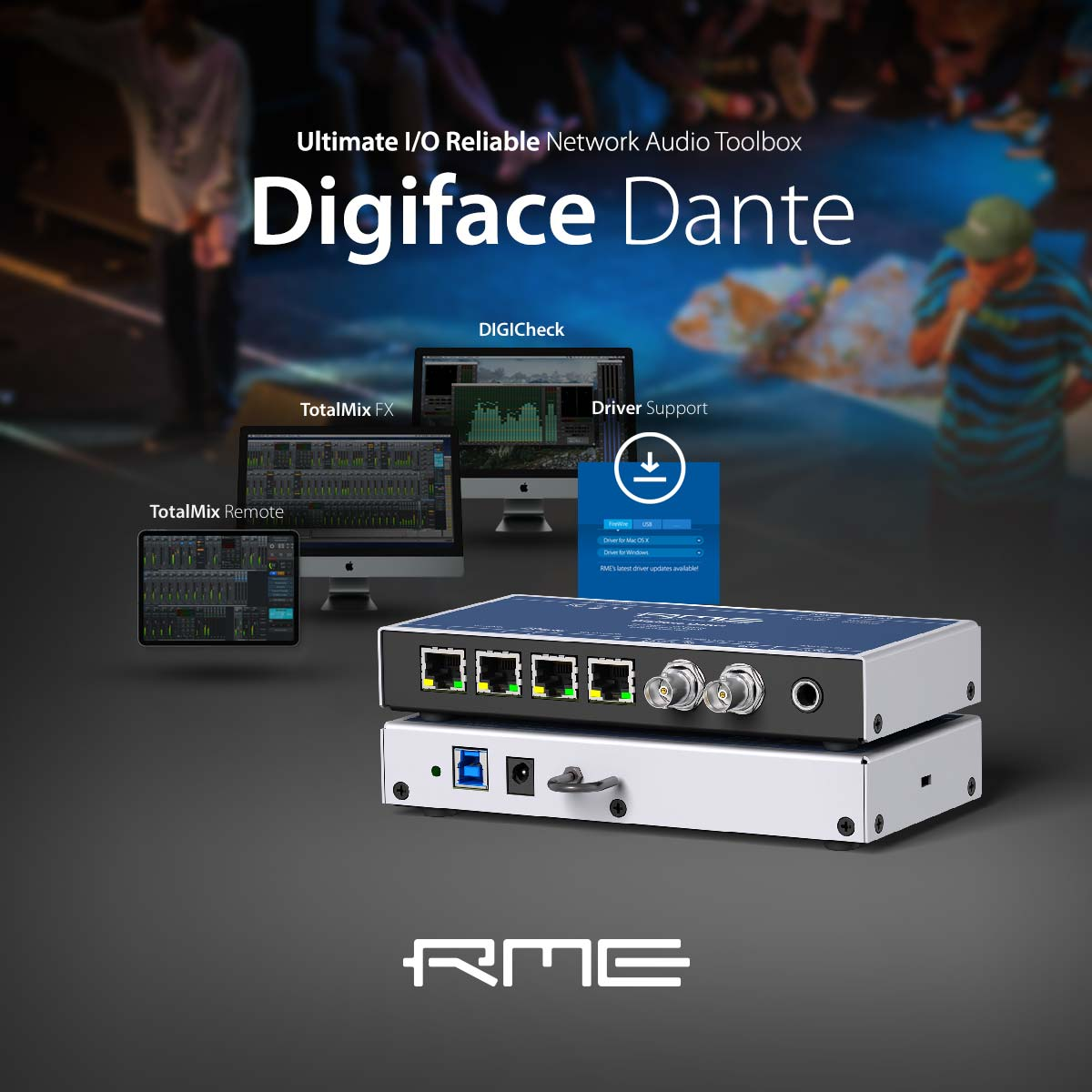 Tyler the Creator tours with the RME Digiface Dante