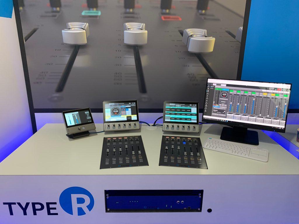 Calrec Stand - 04 - Type R - Brio - Synthax Audio UK