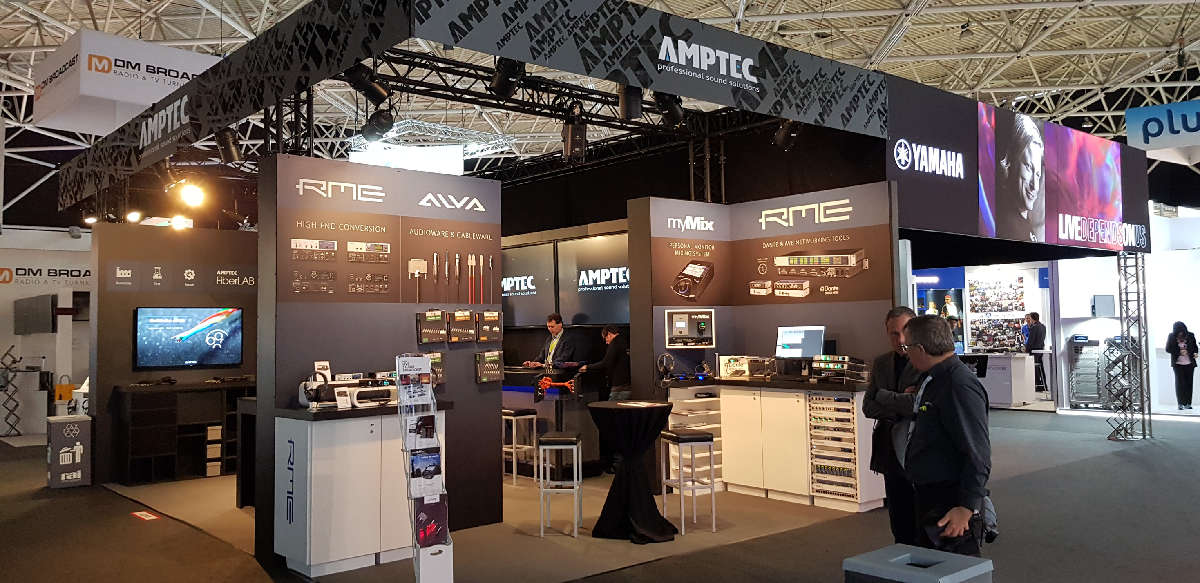 RME Stand - IBC 2019 - Synthax Audio UK