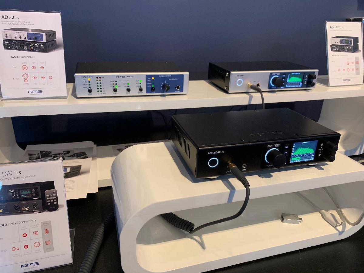 RME Stand - ADI-2 Series - IBC 2019 - Synthax Audio UK