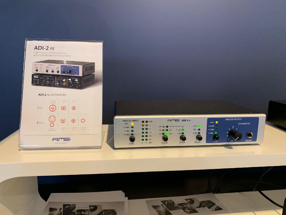 RME Stand - RME ADI-2 FS - IBC 2019 - Synthax Audio UK