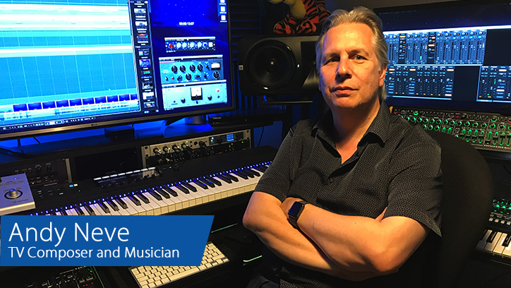 Andy Neve - RME Fireface UFX+ - Synthax Audio UK