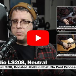 Podcastage Review - Lauten Audio LS-208 Microphone - Synthax Audio UK