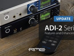 RME ADI-2 Pro FS - New Features and Enhancements Video - Synthax Audio UK