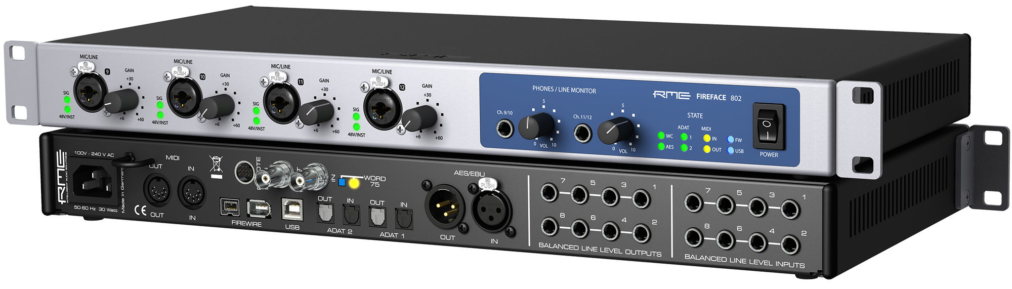 RME Fireface 802 - Synthax Audio UK