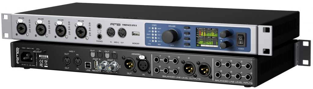 RME Fireface UFX II - Synthax Audio UK