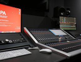Calrec Brio 36 Audio Console - LIPA - 01 - Synthax Audio UK