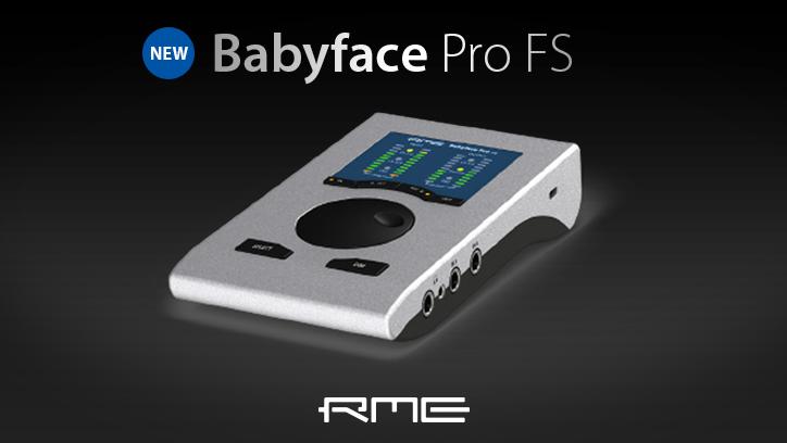 RME Babyface Pro FS - New - Synthax Audio UK