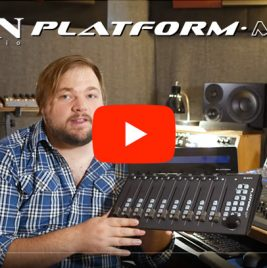 Icon Platform M+ Review - Consordini - Synthax Audio UK