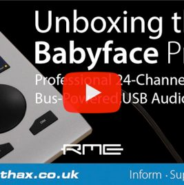 RME-Babyface-Pro-FS---Unboxing-Video---Synthax-Audio-UK