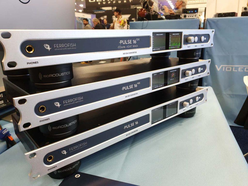 Ferrofish Pulse 16 - MX - DX - NAMM 2020 - Synthax Audio UK