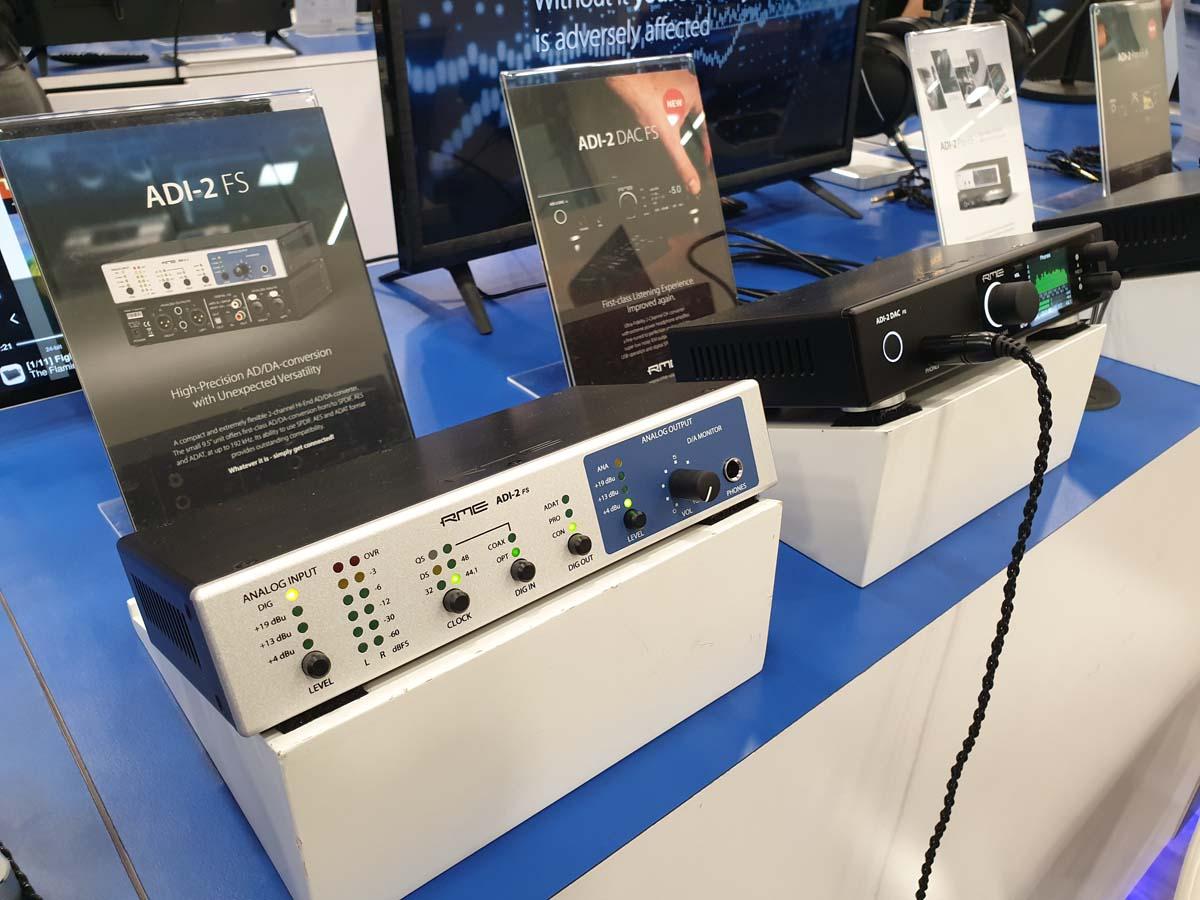 RME ADI-2 FS - NAMM 2020 - Synthax Audio UK