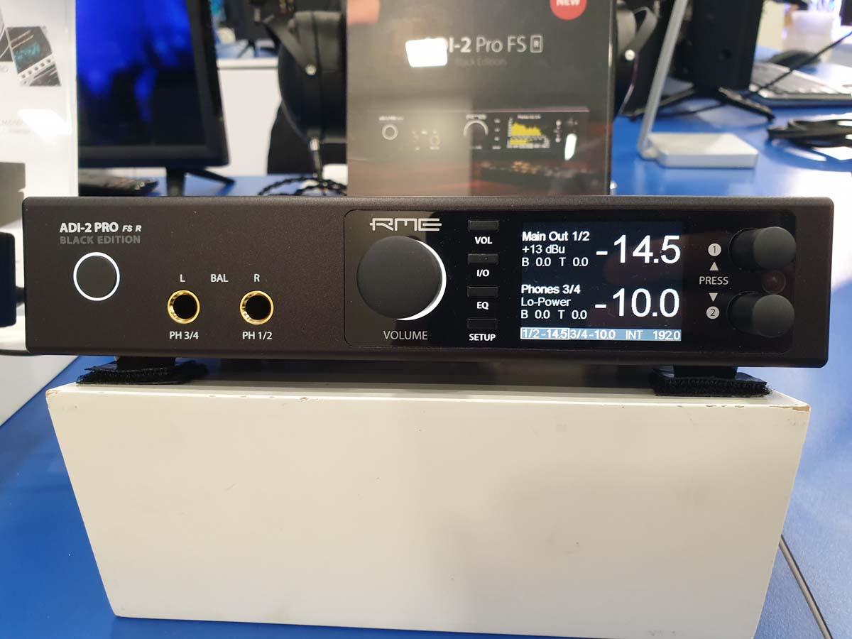 RME ADI-2 Pro FS R Black Edition - NAMM 2020 - Synthax Audio UK