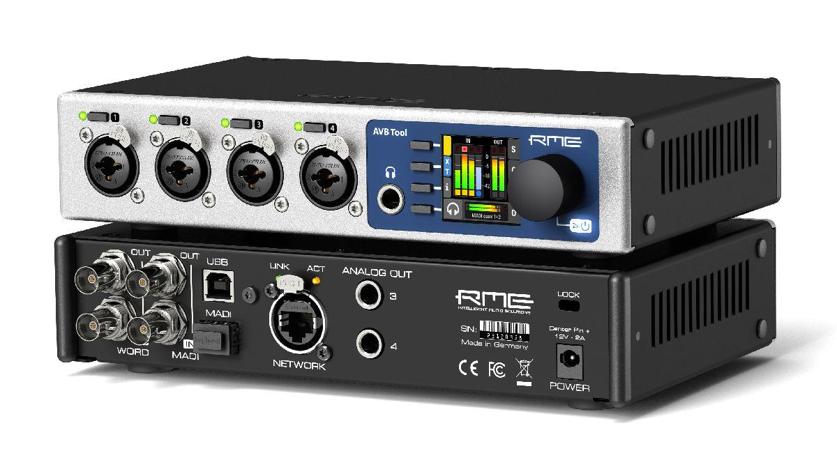 RME AVB Tool - Perspective - Synthax Audio UK