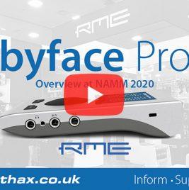 RME Babyface Pro FS - NAMM 2020 Video - Synthax Audio UK