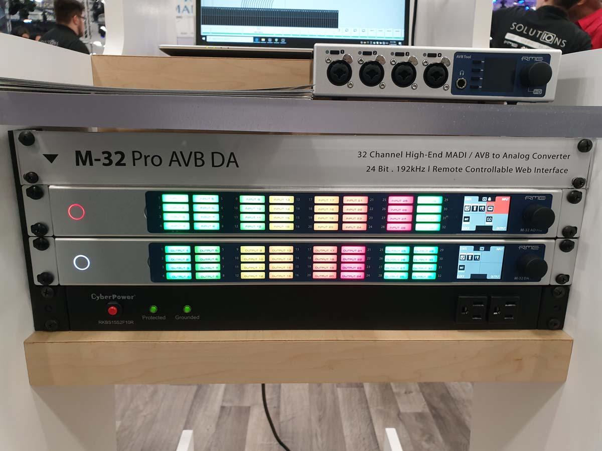 RME M-32 Pro - NAMM 2020 - Synthax Audio UK