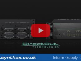 DirectOut Prodigy Series - Feature Image 01 - Synthax Audio UK