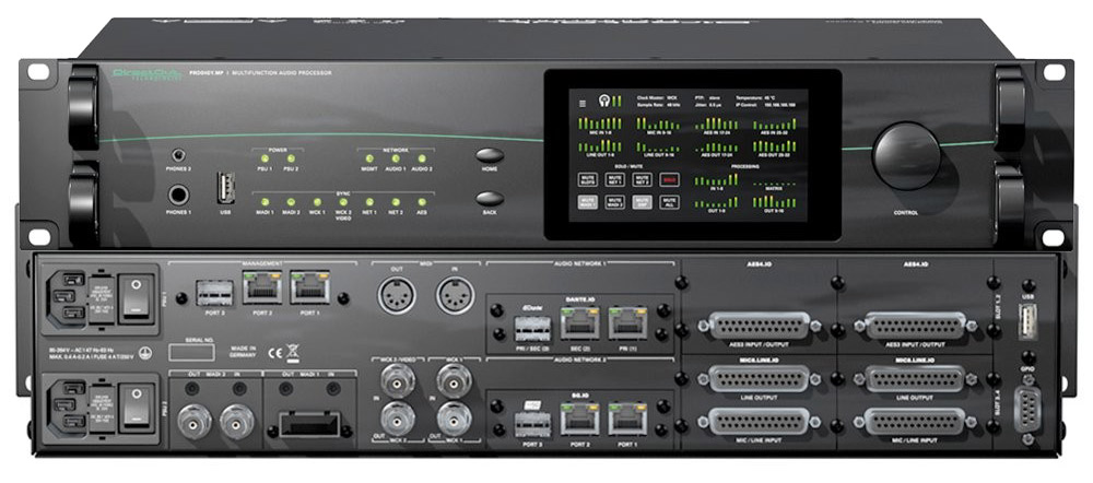 DirectOut ProdigyMP - Front and Back - Synthax Audio UK