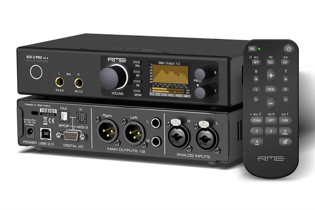 RME ADI-2 Pro FS R - Perspective - Synthax Audio UK