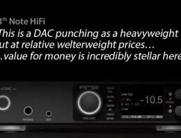 RME ADI-2 DAC FS - 13th Note HiFi Review - Synthax Audio UK