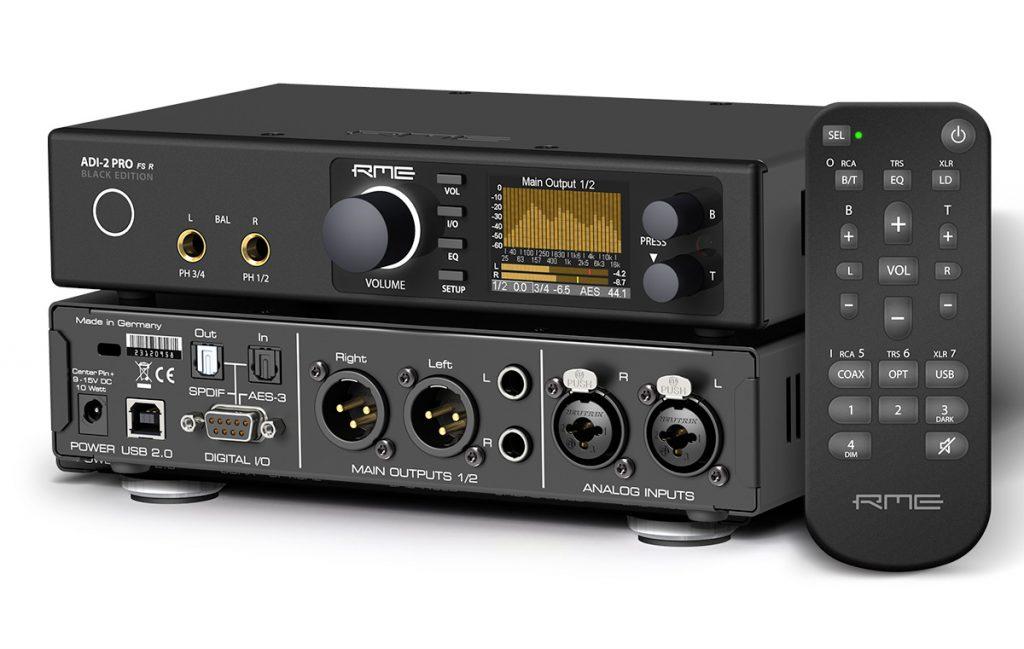 RME ADI-2 Pro FS Black Edition - Synthax Audio UK
