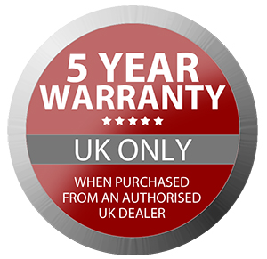5-Year-Warranty-Badge - Synthax Audio UK
