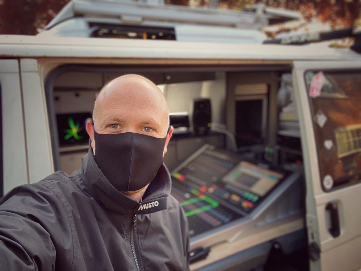01 - Paul Cutler - Captain Tom - Calrec Brio - Synthax Audio UK